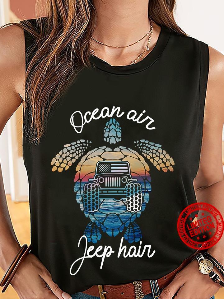 Ocean Air Jeep Hair Shirt